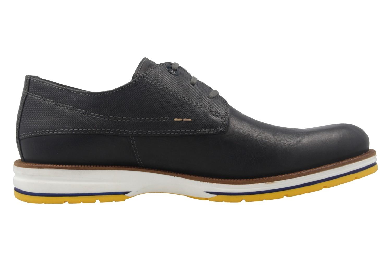 FRETZ MEN - Herren Halbschuhe - Steven - Blau Schuhe in Übergrößen – Bild 4