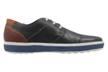 FRETZ MEN - Herren Halbschuhe - Scorpion - Blau Schuhe in Übergrößen – Bild 4