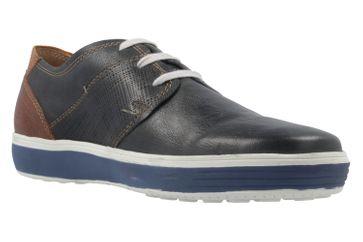 FRETZ MEN - Herren Halbschuhe - Scorpion - Blau Schuhe in Übergrößen – Bild 5
