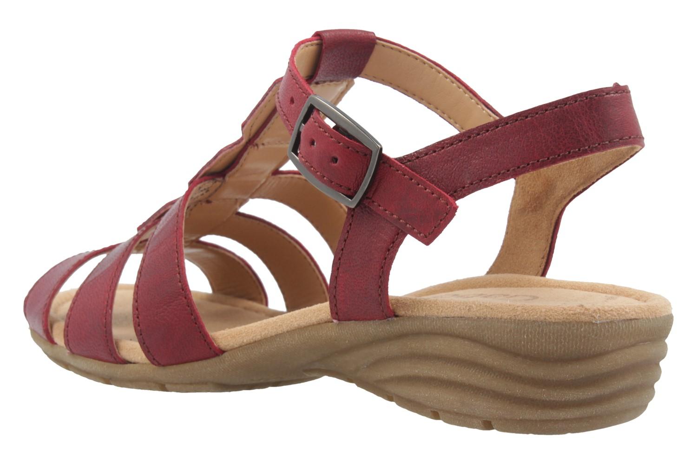 GABOR - Damen Sandaletten - Rot Schuhe in Übergrößen – Bild 2