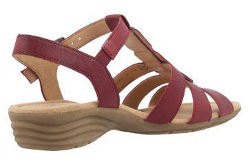 Gabor Sandaletten in Übergrößen Rot 64.558.55 große Damenschuhe – Bild 3