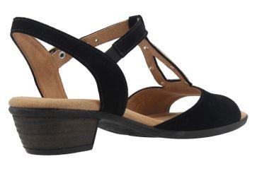 GABOR comfort - Damen Sandaletten - Schwarz Schuhe in Übergrößen – Bild 3