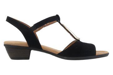 GABOR comfort - Damen Sandaletten - Schwarz Schuhe in Übergrößen – Bild 4