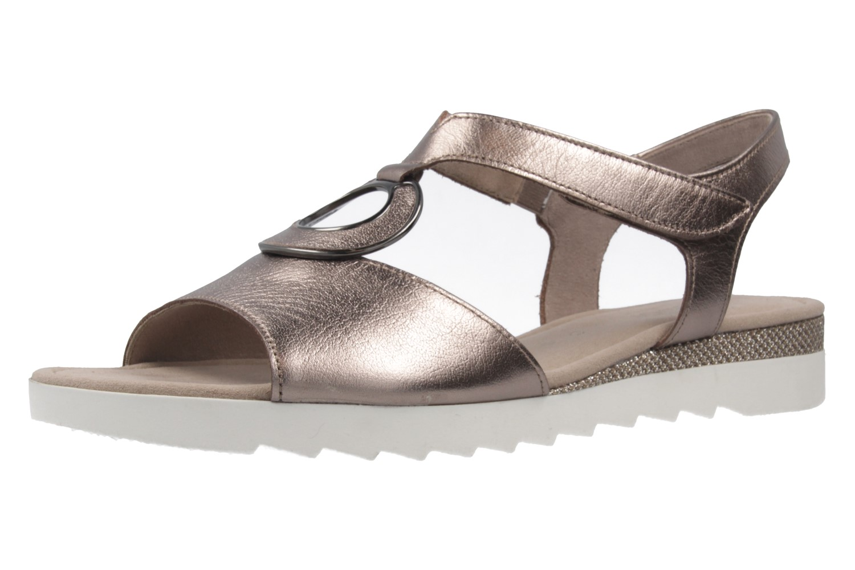 GABOR comfort - Damen Sandalen - Bronze Schuhe in Übergrößen – Bild 1
