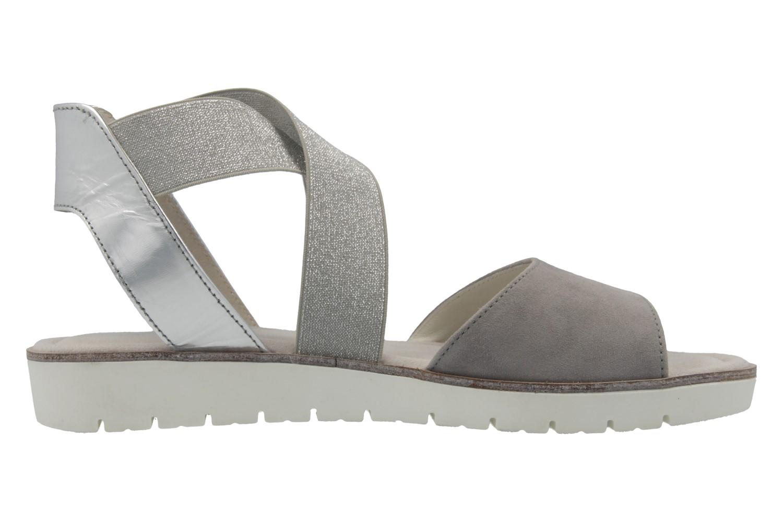 Gabor Sandalen in Übergrößen Grau 65.572.19 große Damenschuhe – Bild 4