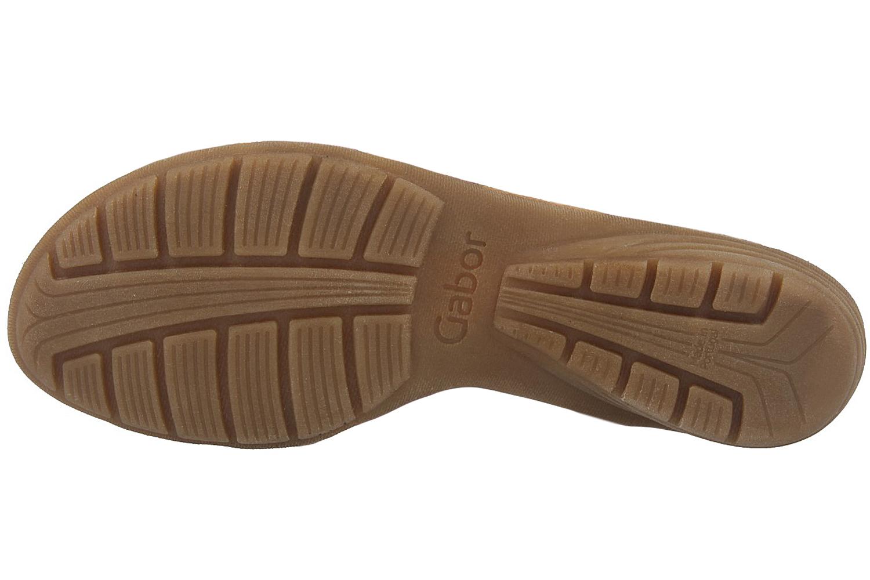 GABOR - Damen Sandaletten - Braun Schuhe in Übergrößen – Bild 6