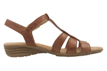 GABOR - Damen Sandaletten - Braun Schuhe in Übergrößen – Bild 4