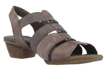 Gabor Sandaletten in Übergrößen Grau 62.472.78 große Damenschuhe – Bild 5