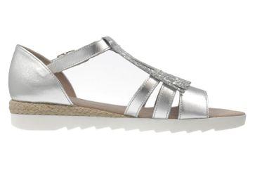 GABOR comfort - Damen Sandalen - Silber Schuhe in Übergrößen – Bild 4