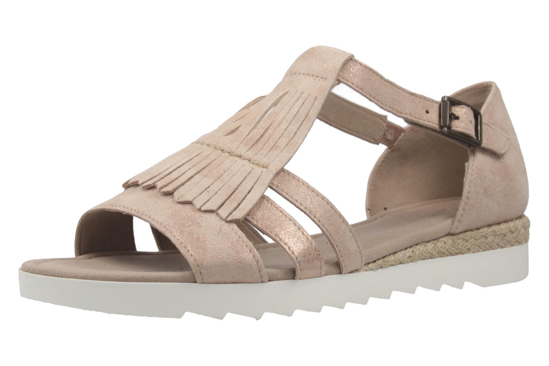 gabor comfort damen sandalen rosa schuhe in bergr en. Black Bedroom Furniture Sets. Home Design Ideas