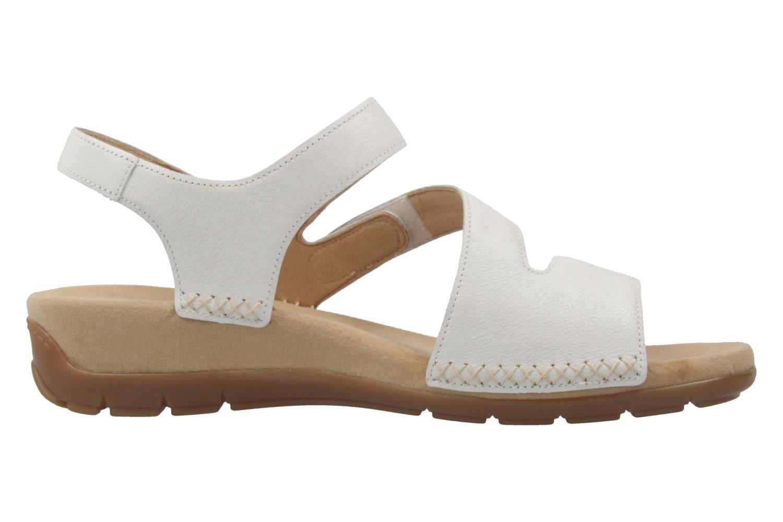 gabor damen sandalen wei schuhe in bergr en. Black Bedroom Furniture Sets. Home Design Ideas