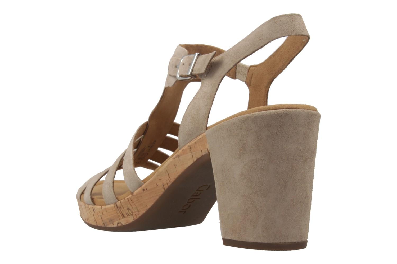 GABOR comfort - Damen Sandaletten - Grau Schuhe in Übergrößen – Bild 2