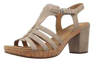 Gabor Sandaletten in Übergrößen Grau 62.783.41 große Damenschuhe