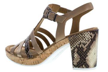GABOR comfort - Damen Sandaletten - Beige Schuhe in Übergrößen – Bild 2