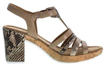 GABOR comfort - Damen Sandaletten - Beige Schuhe in Übergrößen – Bild 4