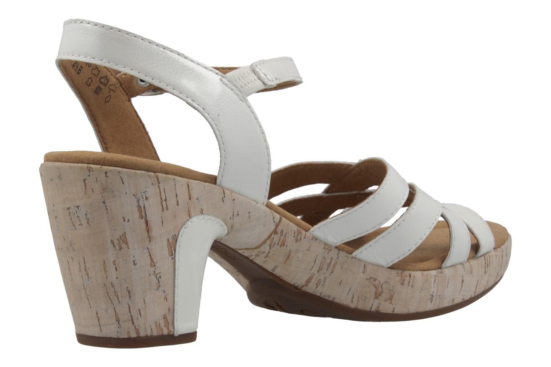 GABOR comfort - Damen Sandaletten - Lack Weiß Schuhe in Übergrößen – Bild 3