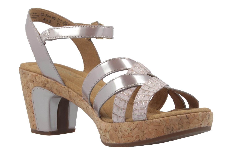 GABOR comfort - Damen Sandaletten - Lack Pink Schuhe in Übergrößen – Bild 5