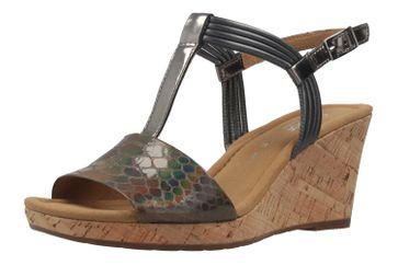 Gabor Sandaletten in Übergrößen Grau 62.828.85 große Damenschuhe – Bild 1