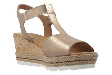 GABOR comfort - Damen Keil-Sandaletten - Gold Schuhe in Übergrößen – Bild 5