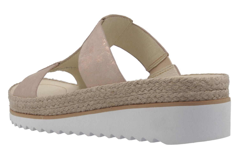 GABOR - Damen Pantoletten - Rosa Schuhe in Übergrößen – Bild 2