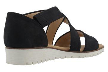 GABOR - Damen Sandalen - Blau Schuhe in Übergrößen – Bild 3