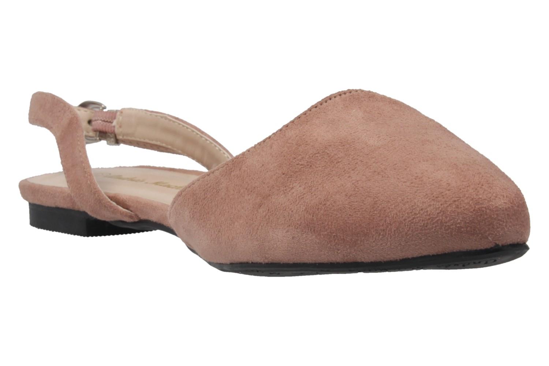 ANDRES MACHADO - Damen Slingback Ballerinas - Nude Schuhe in Übergrößen – Bild 5