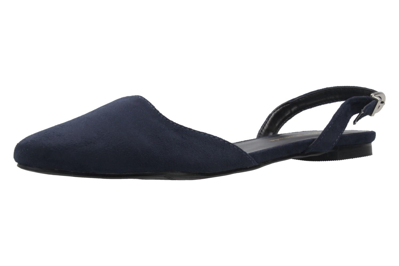 ANDRES MACHADO - Damen Slingback Ballerinas - Blau Schuhe in Übergrößen – Bild 1
