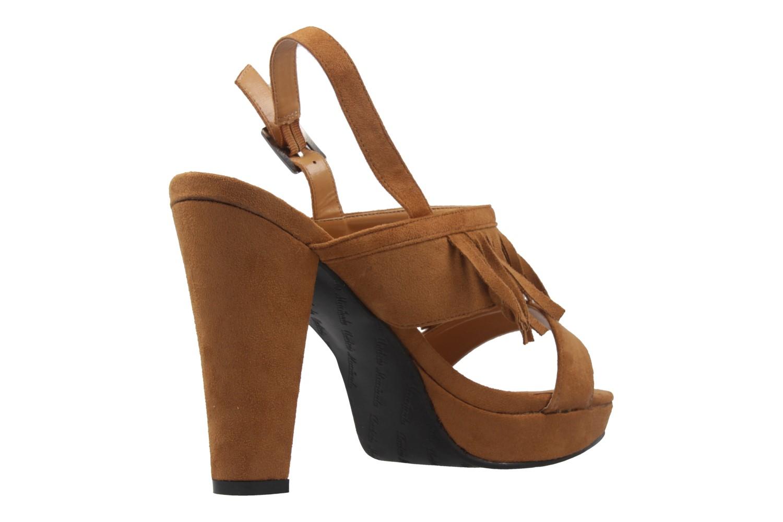 Andres Machado Sandaletten in Übergrößen Braun AM5163 Ante Camel große Damenschuhe – Bild 3