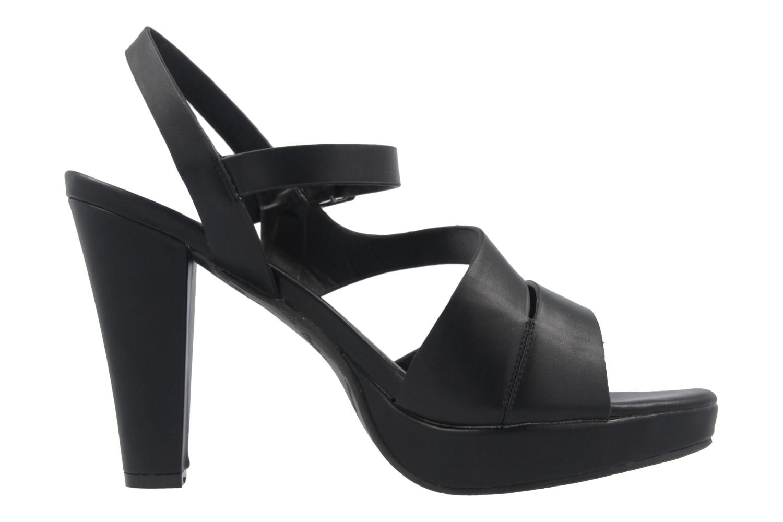 Andres Machado Sandalette in Übergrößen Schwarz AM5157 Soft Negro große Damenschuhe – Bild 4