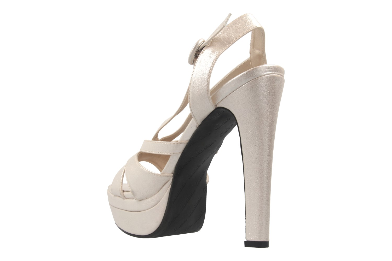 ANDRES MACHADO - Damen Sandaletten - Silber Schuhe in Übergrößen – Bild 2