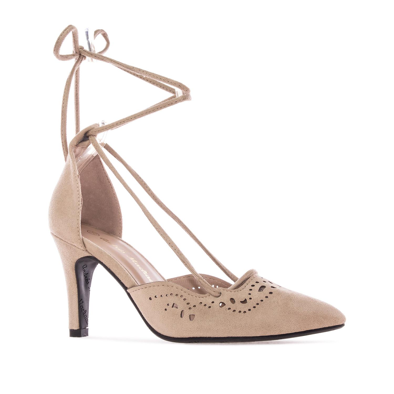 ANDRES MACHADO - Damen Pumps - Beige Schuhe in Übergrößen – Bild 2