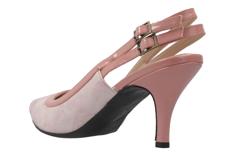 ANDRES MACHADO - Damen Slingback Pumps - Rosa Schuhe in Übergrößen – Bild 2