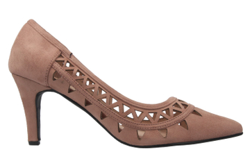 ANDRES MACHADO - Damen Pumps - Nude Schuhe in Übergrößen – Bild 4