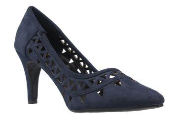 ANDRES MACHADO - Damen Pumps - Blau Schuhe in Übergrößen – Bild 5