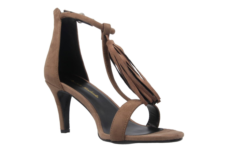 ANDRES MACHADO - Damen Sandaletten - Braun Schuhe in Übergrößen – Bild 5