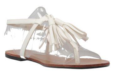 Andres Machado Zehentrenner in Übergrößen Weiß AM5145 Soft Blanco große Damenschuhe – Bild 5