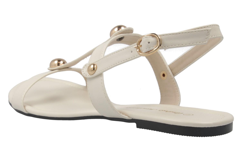 ANDRES MACHADO - Damen Sandalen - Beige Schuhe in Übergrößen – Bild 2