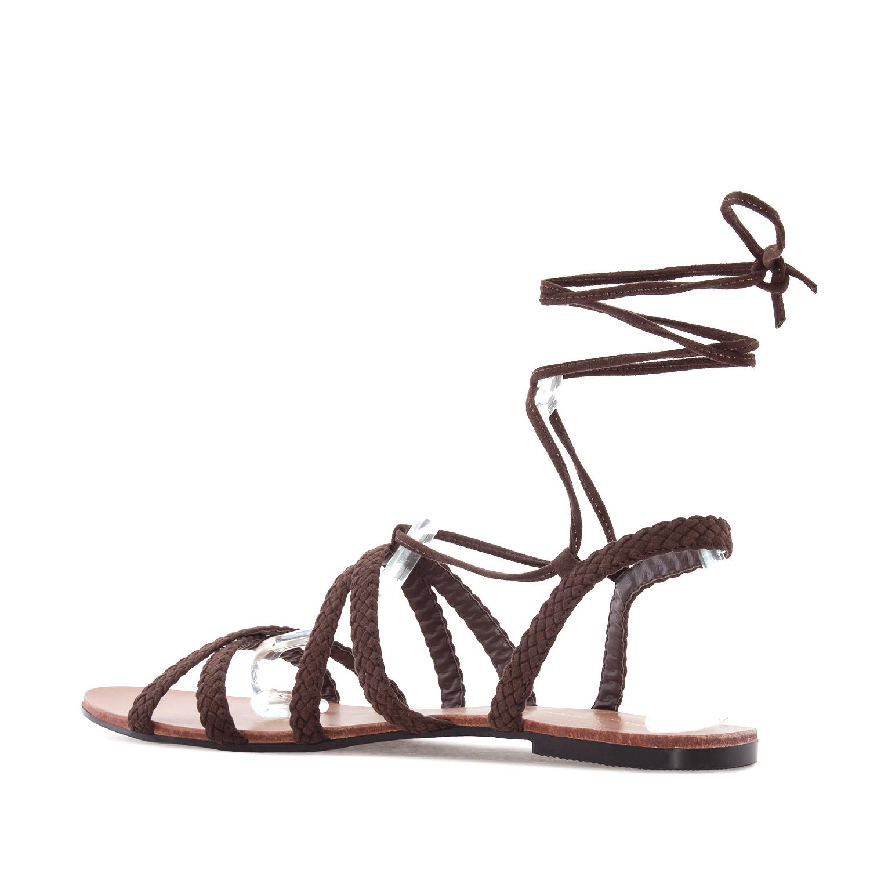 ANDRES MACHADO - Damen Sandalen - Braun Schuhe in Übergrößen – Bild 3
