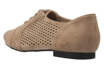 ANDRES MACHADO - Damen Halbschuhe - Beige Schuhe in Übergrößen – Bild 2