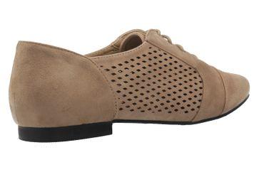 ANDRES MACHADO - Damen Halbschuhe - Beige Schuhe in Übergrößen – Bild 3