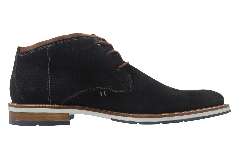 FRETZ MEN - Herren Business Stiefeletten - Andrew - Blau Schuhe in Übergrößen – Bild 4