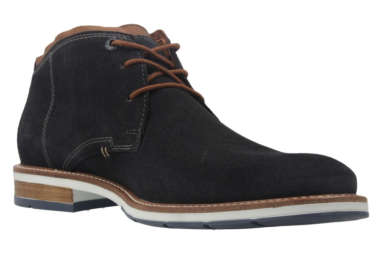 FRETZ MEN - Herren Business Stiefeletten - Andrew - Blau Schuhe in Übergrößen – Bild 5