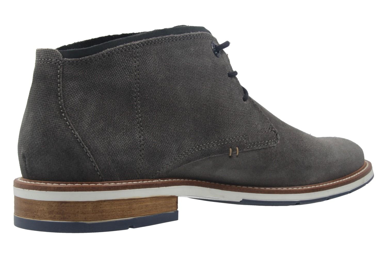FRETZ MEN - Herren Business Stiefeletten - Andrew - Grau Schuhe in Übergrößen – Bild 3