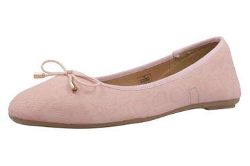 Fitters Footwear Ballerinas in Übergrößen Pink 2.589623 L.Pink große Damenschuhe