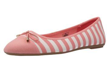 Fitters Footwear Ballerinas in Übergrößen Pink 2.514343 L.Pink/White große Damenschuhe – Bild 1