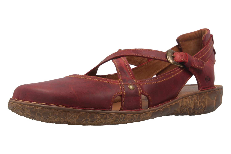 josef seibel damen sandalen rosalie 13 rot schuhe in bergr en ebay. Black Bedroom Furniture Sets. Home Design Ideas