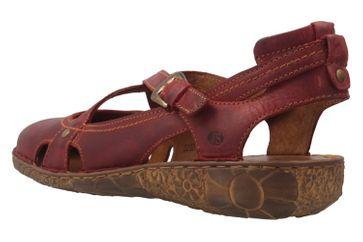 Josef Seibel Rosalie 13 Sandalen in Übergrößen Rot 79513 95 400 große Damenschuhe – Bild 2