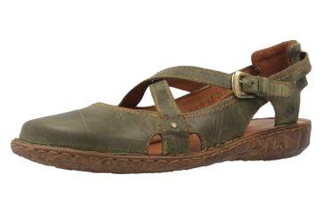 JOSEF SEIBEL - Damen Sandalen - Rosalie 13 - Oliv Schuhe in Übergrößen – Bild 1