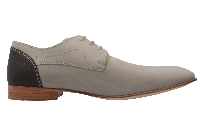 MANZ - Herren Business Schuhe - Terni - Grau Schuhe in Übergrößen – Bild 4
