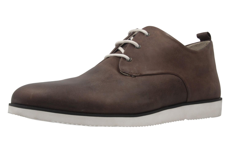 MANZ - Herren Halbschuhe - ION - Braun Schuhe in Übergrößen – Bild 1